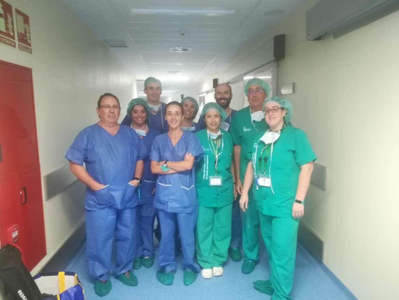 El Hospital Universitario de Cáceres implanta una nueva técnica de cirugía mamaria que facilita la extirpación segura del tumor