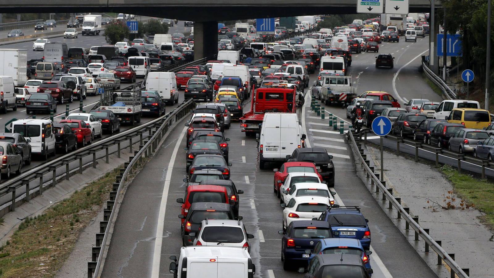 Operación especial de tráfico en el Puente de los Santos