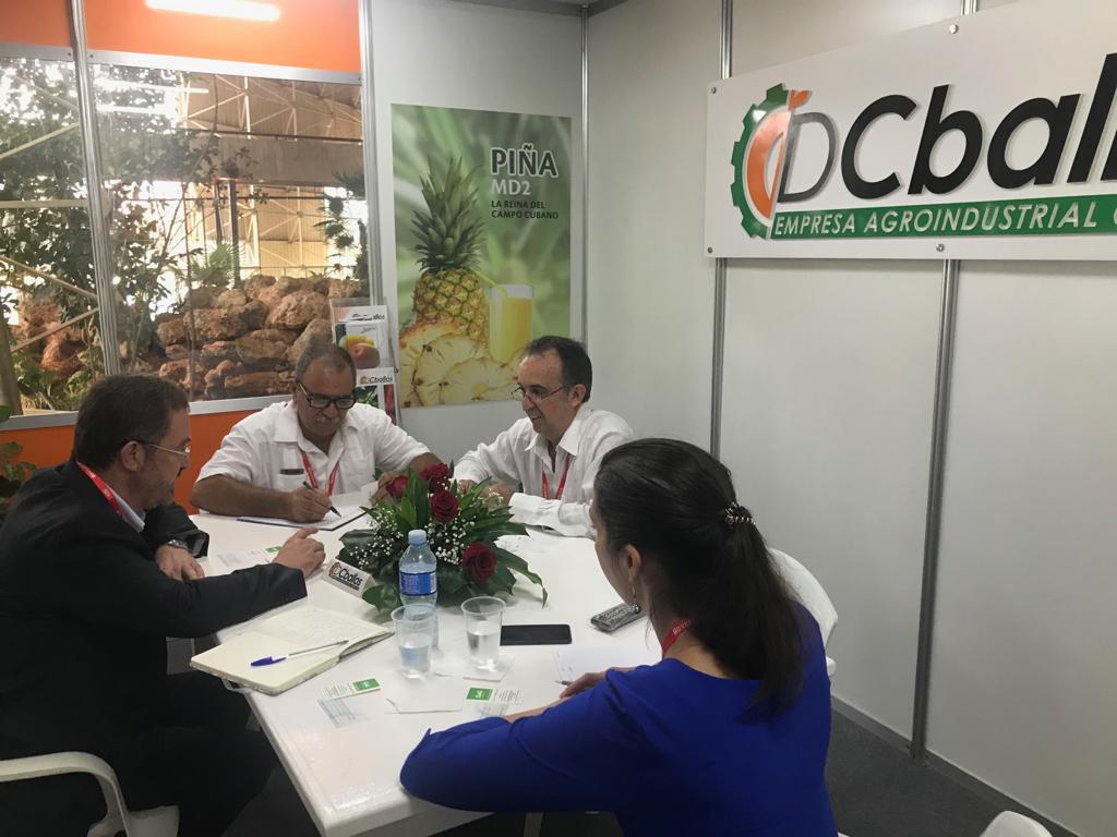 Una delegación de seis empresas extremeñas ha participado en la Feria Internacional de La Habana para avanzar en las relaciones comerciales