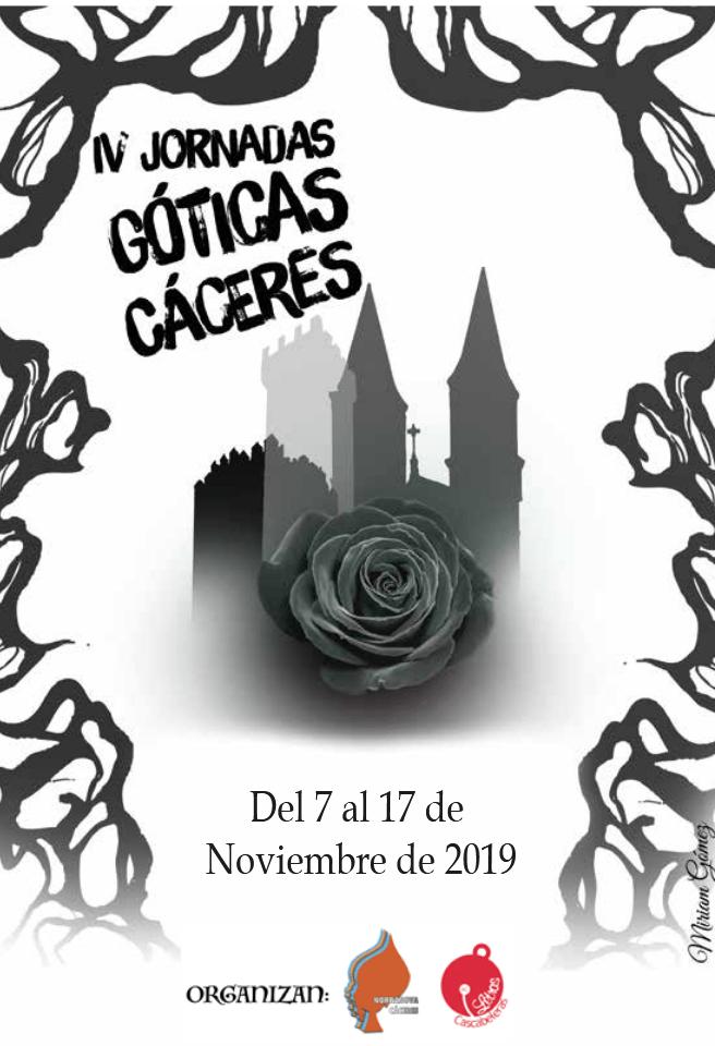 IV edición de las Jornadas Góticas de Cáceres, que se celebrarán desde el día 7 al 17 de noviembre
