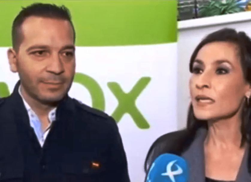 Nevado, VOX Cáceres, denuncia ante la policía la divulgación de un vídeo que considera lesivo e indignante para ella y su partido