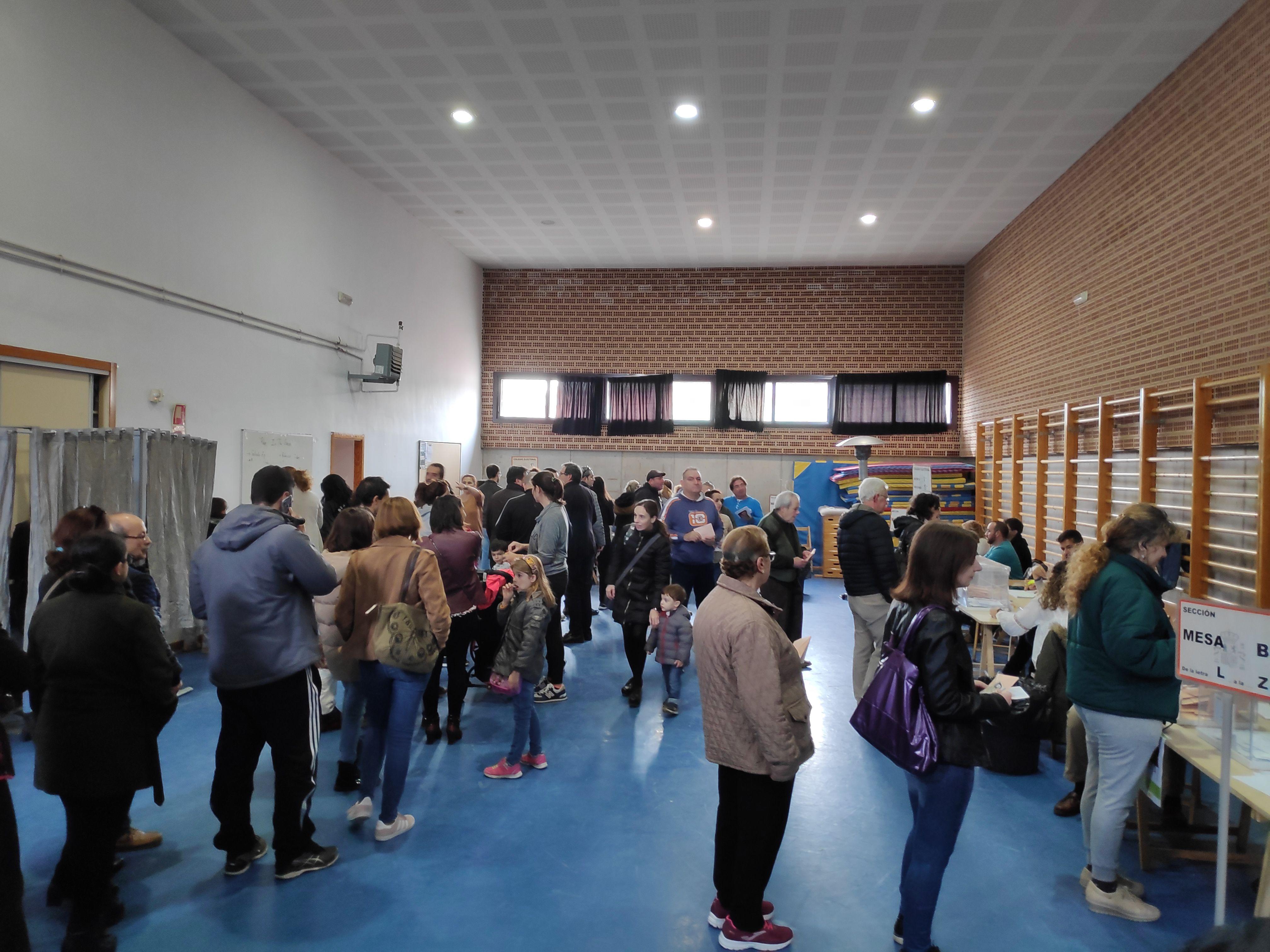 NORMALIDAD EN LAS VOTACIONES DE LAS ELECCIONES 10N