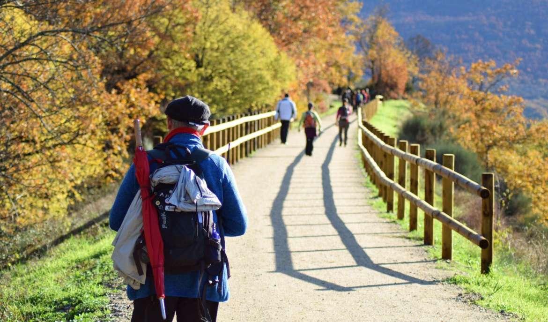 Queda abiertos 21 kms del Camino Natural de la Vía de la Plata entre Baños de Montemayor y Casas del Monte