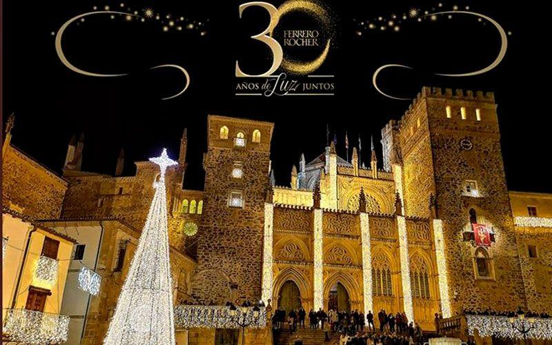 Guadalupe, el pueblo con más luz de España dará las campanadas de Fin de Año en Telecinco