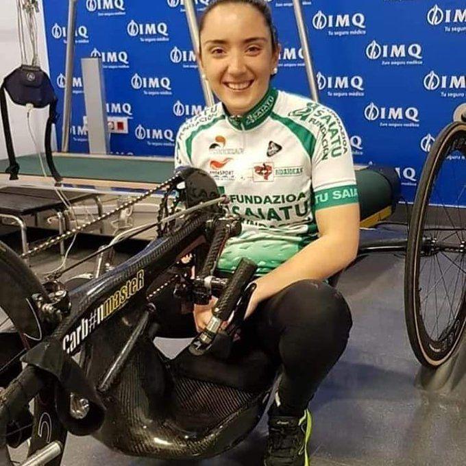 Muere Ione Basterra, conocida ciclista de handbike vasca, con solo 25 años