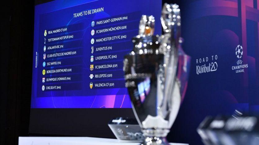 Sorteo de Champions: Real Madrid-Manchester City y Atlético-Liverpool, platos fuertes de octavos de final