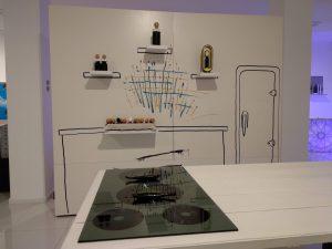 Interpretación de la cocina del hogar