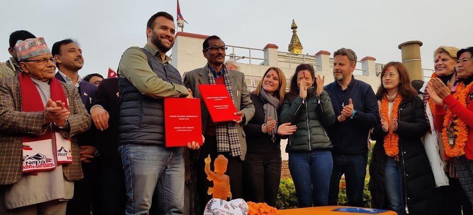 Objetivo Nepal con Buda como atractivo turístico en Cáceres para millones de potenciales visitantes