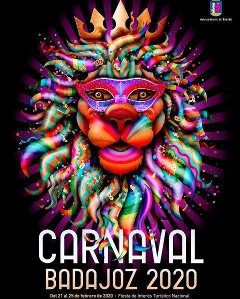 Presentado el cartel del afamado Carnaval de Badajoz 2020