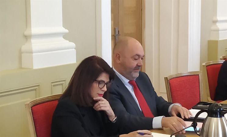 Los ediles no adscritos Alcántara y Díaz afirman que el equipo de Gobierno municipal de Cáceres no ha tenido ningún interés en llegar a un consenso sobre los Presupuestos