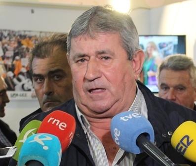 """LORENZO RAMOS: """"LOS AGRICULTORES Y GANADEROS NO PARAREMOS HASTA QUE NO SE SOLUCIONE EL PROBLEMA DE LOS BAJOS PRECIOS"""""""