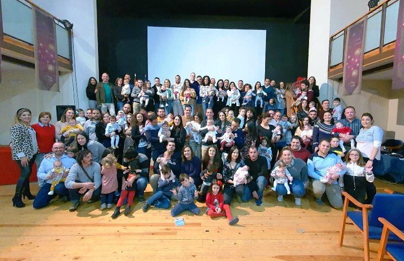 Acto de bienvenida del Ayuntamiento de Arroyo de la Luz a los 38 niños y niñas nacidos en Arroyo de la Luz en el 2019