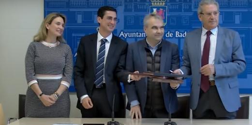 Ayuntamiento de Badajoz, Ibercaja en Extremadura y Fundación CB renuevan la colaboración  a favor de Feria Badajoz por 17.000 euros