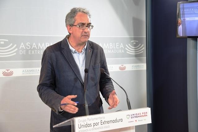 Unidas Por Extremadura registra la Ley del Personero del Común para cumplir con lo establecido en el Estatuto de Autonomía