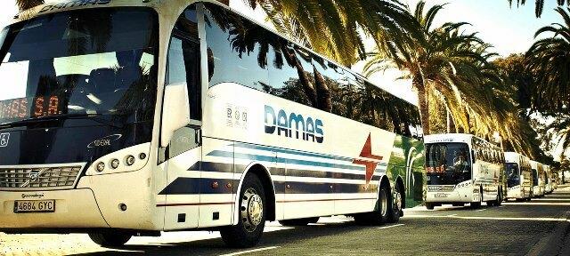 La empresa de transporte DAMAS prestará servicio a demanda del viajero/a  a partir del 30 de marzo debido a la situación de emergencia sanitaria por coronavirus