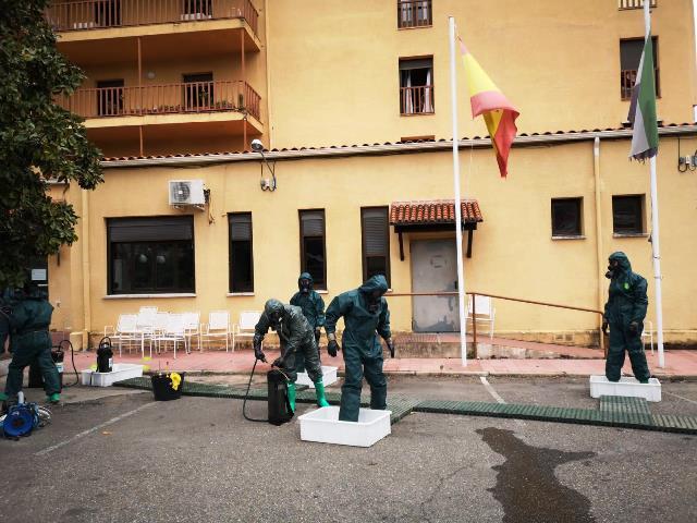 Continua el despliegue del Ejército de Tierra en las provincias de Cáceres, Badajoz y Guipúzcoa.