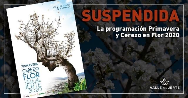 Suspendidos los eventos Primavera y Cerezo en Flor del Valle del Jerte