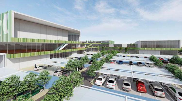Un nuevo parque comercial se proyecta en Cáceres