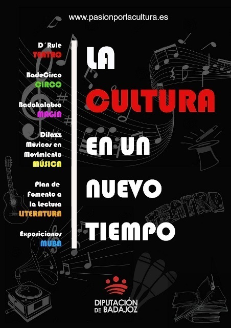 """""""La cultura en un nuevo tiempo"""" programa de la Diputación de Badajoz para los sectores empresariales y sociales de la provincia"""
