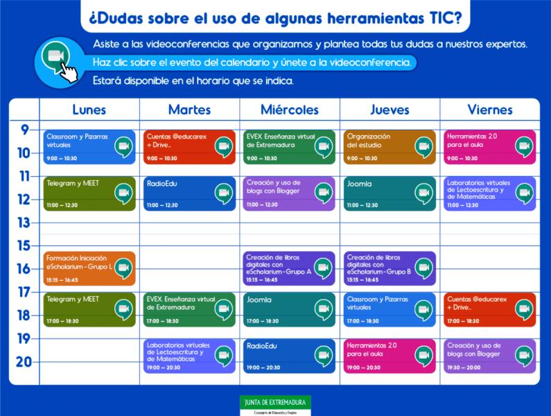 Más de 4.500 docentes participan en acciones de capacitación TIC en el uso de las tecnologías de la educación
