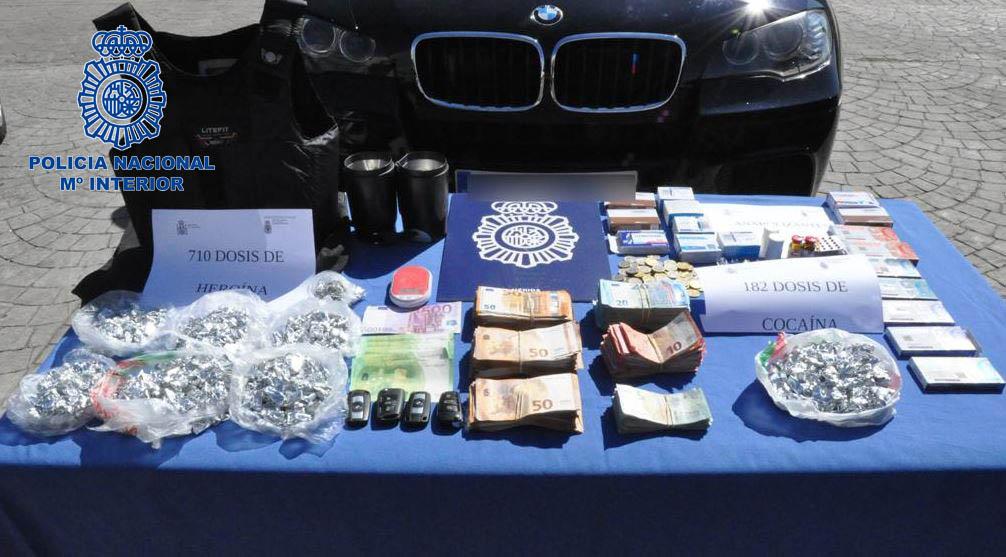 Detenidas 10 personas de un clan familiar por tráfico de heroína y cocaína en Mérida