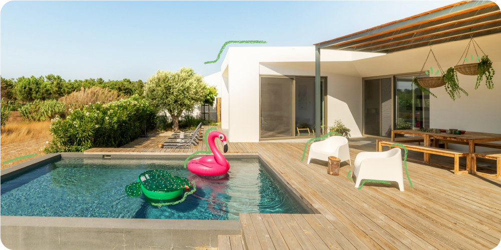 La casa ideal de los extremeños es ecoeficiente y con piscina privada
