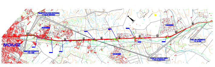 Aprobado el expediente de información pública del proyecto de mejora del acceso sur a Badajoz en la N-432