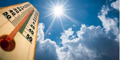 Alerta amarilla para este sábado por altas temperaturas en algunas zonas de la región