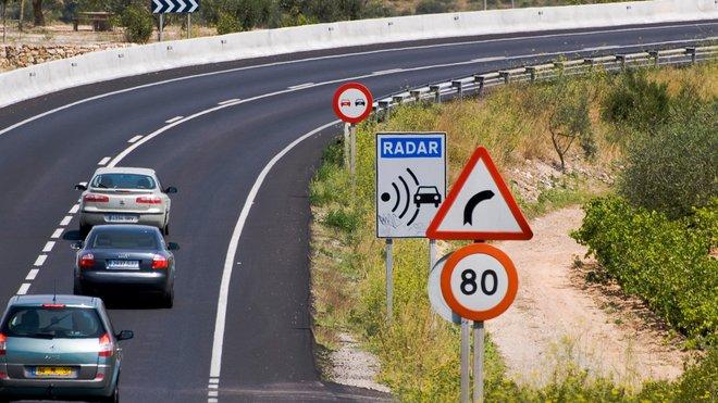 Campaña de la DGT de intensificación de la vigilancia de velocidad en las carreteras