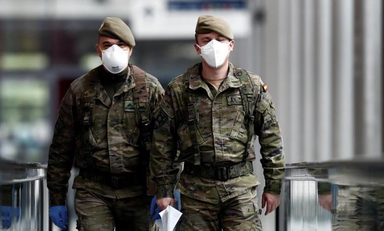 ATME vuelve a reclamar el suministro gratuito de mascarillas sanitarias al personal militar