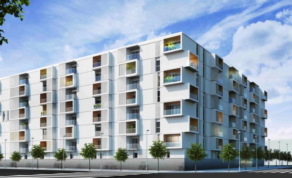 El precio medio de la vivienda nueva en Extremadura se ha establecido en 1.208 €/m2
