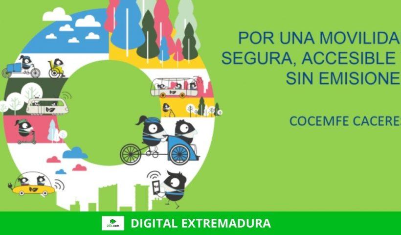 COCEMFE CÁCERES invita a notificar incidencias de accesibilidad en la Semana Europea de la Movilidad