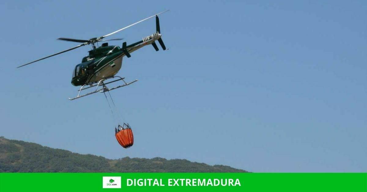 Declarada zona de actuación urgente los terrenos forestales afectados por el incendio de Jerte y La Vera