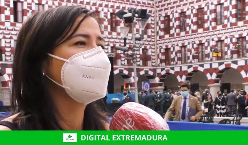 La edil pacense Montero de Espinosa pide a la Junta que asuma sus funciones en materia de desinfección