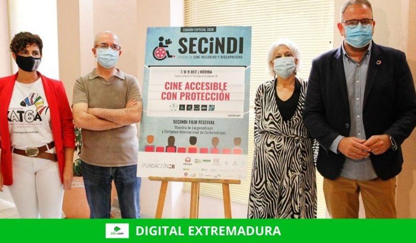 Mérida prepara para octubre la III Edición de la Semana de Cine Inclusivo y Discapacidad (SECINDI)