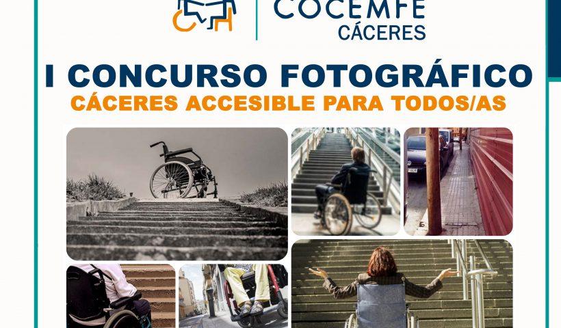 """""""I Concurso de Fotografía. Cáceres Accesible para Todos/as"""""""