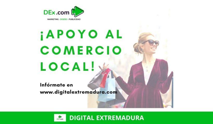 promoción en apoyo al comercio local de Cáceres