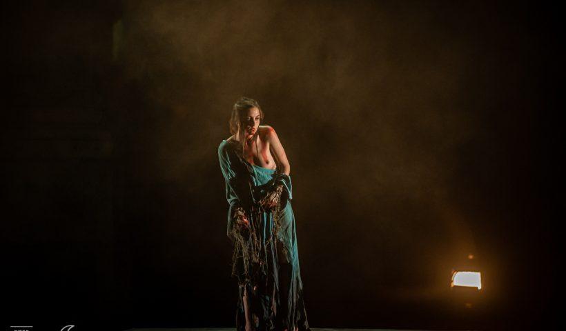 Escena de la obra `Tito Andrónico´ en el Festival de Teatro Clásico de Mérida, por Diego Casillas.