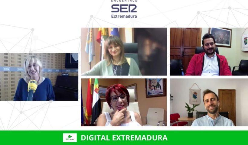 Brecha digital, simbiosis y la importancia de las administraciones locales marcaron el II Encuentro Online Ser Extremadura sobre el despoblamiento