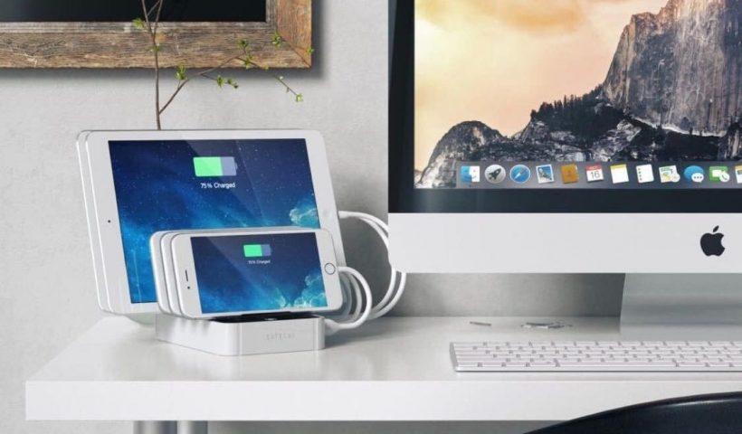 La-mejor-estacion-de-carga-del-2020-Satechi-7-Port-USB-Charging-Station